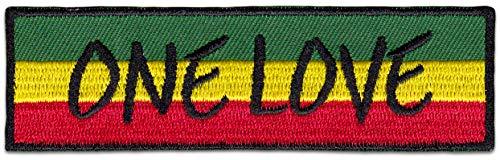 One Love Reggae - Parche para planchar