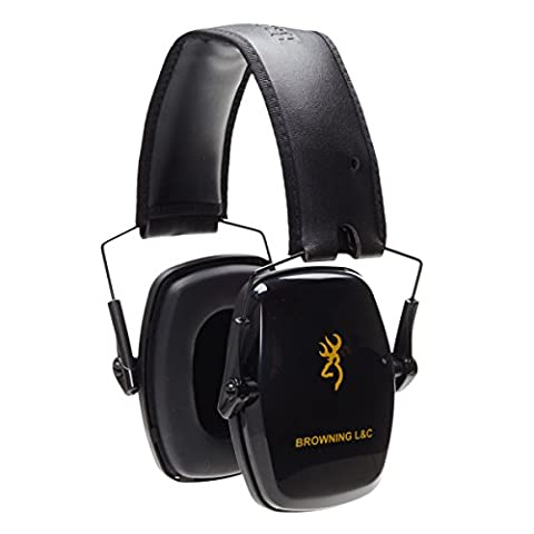 Browning Ultra Slim Faltbar Weiche Ohrenschützer