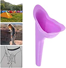 Ureka Stand Up And Pee Reusable & Portable Female Urination Device With Pouch - Purple