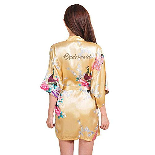 Zsdgy L Dress Peony K Natural Thin Women's Robesimple Peacock Pajamascolorful Nightdress kPXuZi