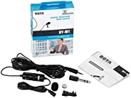 BOYA BY-M1 Omnidirectional Lavalier Condenser Recording Microphone