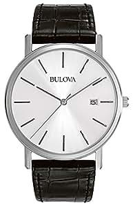 Bulova Classic Analog Silver Dial Men's Watch - 96B104