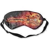 Eye Mask Eyeshade Guitar Flame Sleep Mask Blindfold Eyepatch Adjustable Head Strap preisvergleich bei billige-tabletten.eu