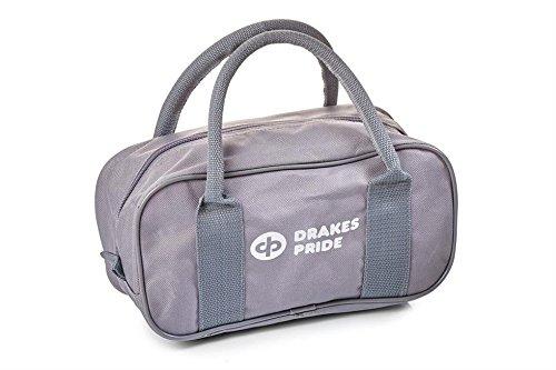 Drakes Pride Bowlingtasche für 2 Kugeln grau - grau