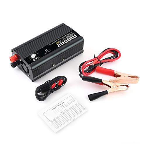 2000 Watt Auto Power Converter 12 V DC Zu AC Auto Wechselrichter Aluminiumlegierung Transformator Wechselrichter Portable Travel Converter