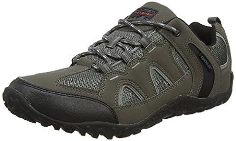 Gola Elias, Men Low Rise Hiking, Grey (Grey/Black), 11 UK (45 EU)