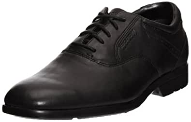Rockport Men's Business Lite Plaintoe Low-Top Sneakers Black Size: 5.5