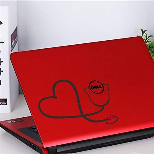 Preisvergleich Produktbild xsongue Funny Doctor Nurse Stethoscope Sticker Car Laptop Computer Refrigerator Decoration Art Wall Vinyl Decal