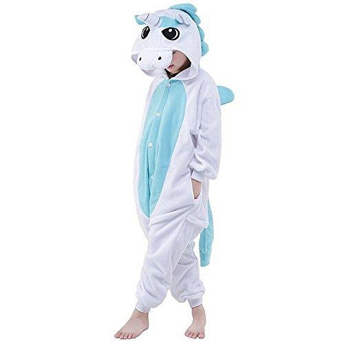 Unisex Cartoon Kigurumi Anime Cosplay Onesie Tierkostüme Pyjamas Schlafanzug Nachtwäsche (Anime Cosplay Für Jungen)