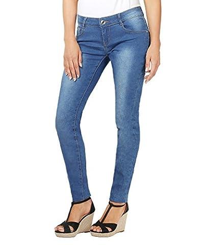 5327-BLU-14: Jeans Slim Classique (Bleu Jeans , 42)