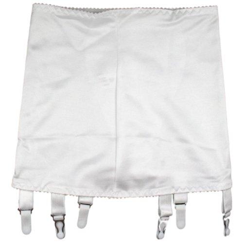 Premier Dessous Hüfthalter mit 6 Strumpfhaltern (NDG6DE) Weiß