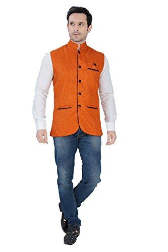 Nu-Abc-Garments-Orange-Nehru-Jacket-For-Mens