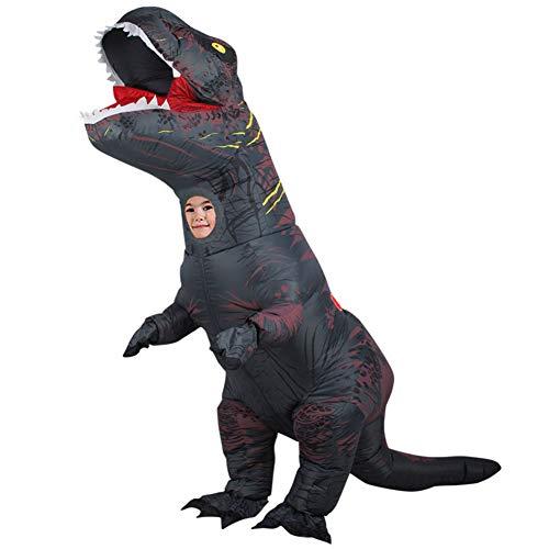XXLLQ Halloween Kind aufblasbare Dinosaurier-Partei-Kostüm Lustige Kleid A Inflatable Costume Party Fancy Dress Cosplay Outfit Dinosaurier Anzüge und Kostüme Festival Park,2
