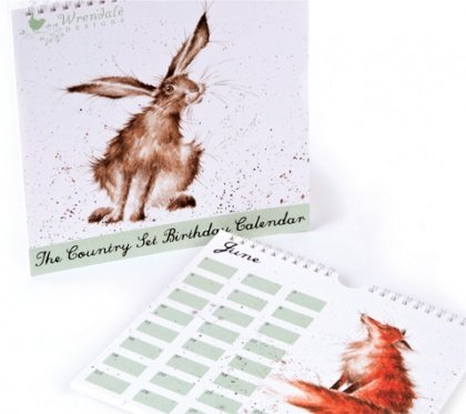 Birthday Calendar - The Country ...