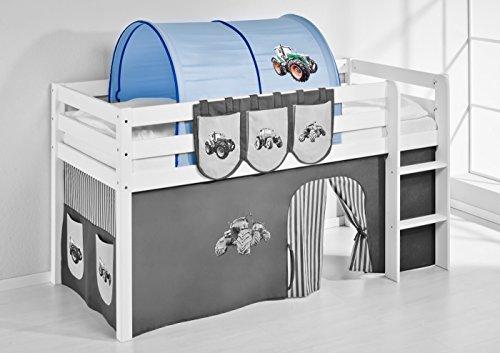Tunnel Trecker Blau - für Hochbett, Spielbett und Etagenbett - 2