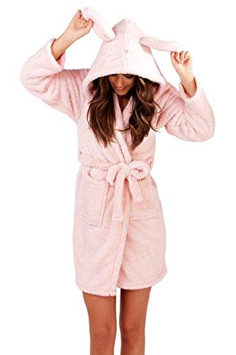 Loungeable Boutique - Vestaglia -  donna Adults - Pink Sparkle Robe