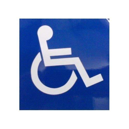 Rollstuhl-Logo Auto-Sticker DCS24 (für innen)