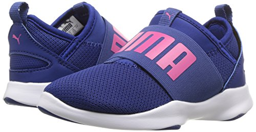 PUMA Unisex-Kids Dare Sneaker  Sodalite Blue-Beetroot Purple  2 M US Little Kid