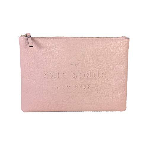 Kate Spade Gia Clutch, groß, Leder-Logo, geprägt -