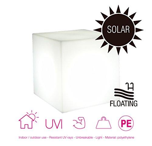 Moovere Coobe Cubo Iluminado Decorativo Integrado, 0.3 W, 20 X 20 cm