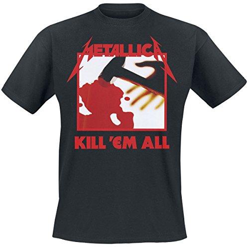 Unbekannt Metallica Kill 'Em All T-Shirt Schwarz XL (Em Schwarzes T-shirt)