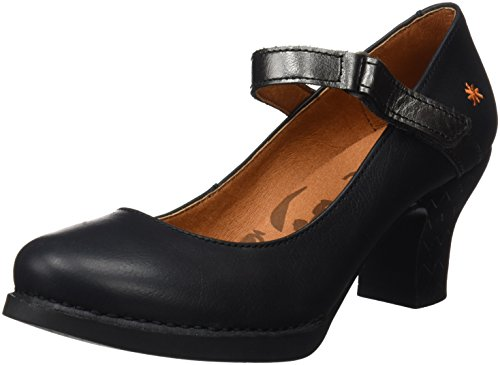 Art Damen 0933 Memphis Harlem Pumps, Schwarz (Black Antracita), 41 EU