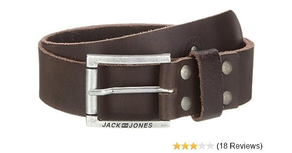 JACK   JONES Herren Gürtel See Belt Noos Org 1-2-3 2013  Amazon.de   Bekleidung c0eb416ac8