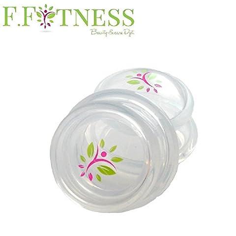 Ventouse anti cellulite amincissement effet ultra drainant, FITCUP Taille 3 meilleure prise en main - Traitement Minceur peau d'orange efficace sur les jambes, le ventre, hanches,