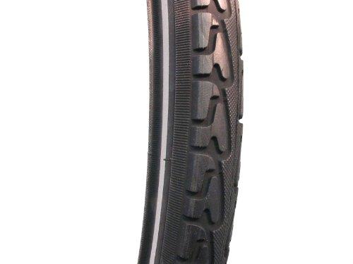 Filmer Fahrradreifen / Fahrraddecke 28 x 1,75 Reflektorstreifen Standard, schwarz, 45326