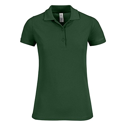 B&C Collection -  T-shirt - Donna Bottle Green