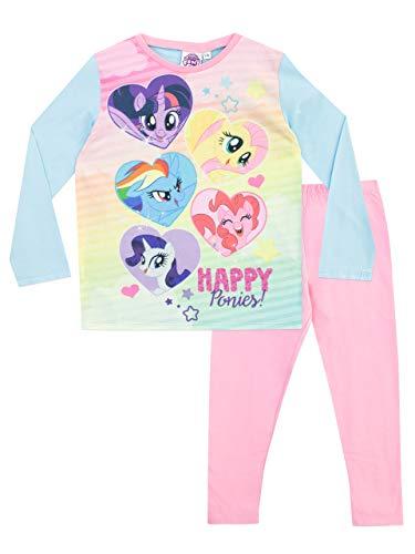 Mio mini pony pigiama a maniche lunghe per ragazze my little pony 9-10 anni