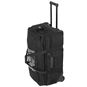511 Mission Ready 20 Rolling Duffel Wheeled Holdall Bag Black from 5.11