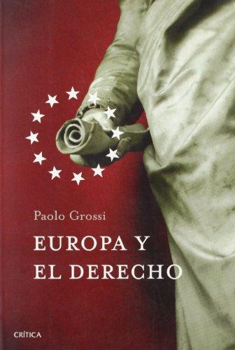 Europa y el derecho por Paolo Grossi