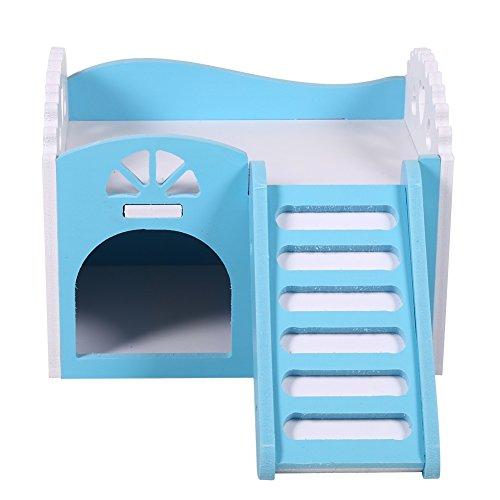 Maison Nid De Hamster Cage De Petit Animal Castel...