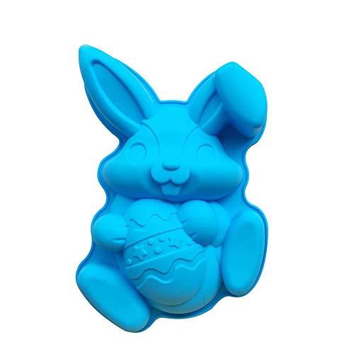 sterei Bunny Form Schokolade Kuchen Backbleche Kinder Mädchen DIY Handgemachte Süßigkeiten Gummibärchen Süßigkeiten Formen ()