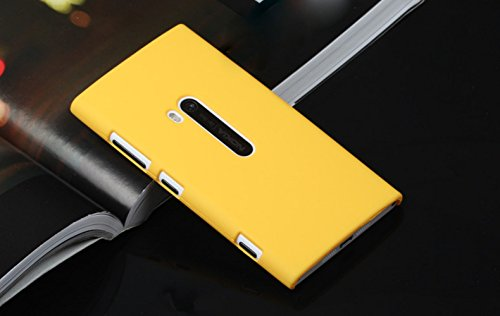 ImagineDesign Rubberised Hard Case For Nokia Lumia 920 (Yellow)  available at amazon for Rs.169
