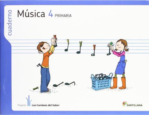 CUADERNO MUSICA 4 PRIMARIA - 9788468009599