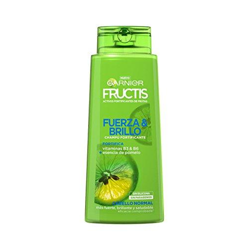 Garnier Fructis Fuerza Brillo Champú Pelo Normal