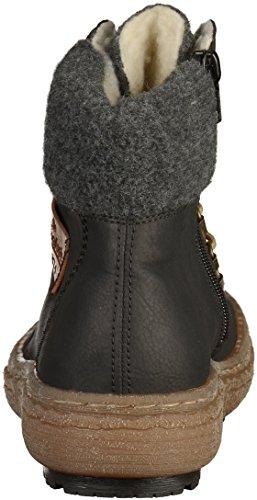 Rieker - Z7943, Stivali Donna Nero (Schwarz/mogano/anthrazit)