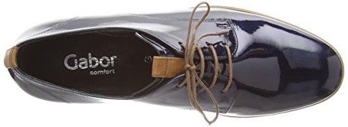 Gabor Gondola, Derby Femme Blau (nightb/satt(S.s/c) 86)