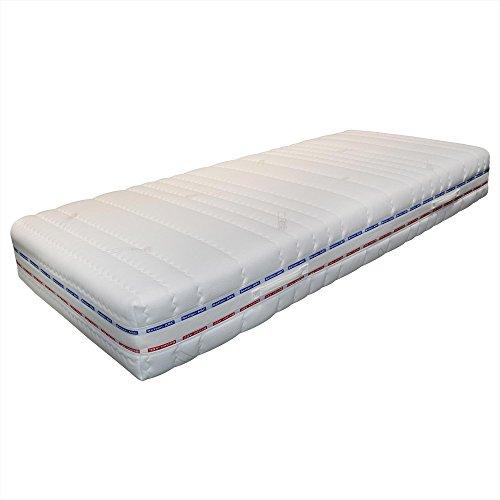 Betten-ABC Taschenfederkernmatratze OrthoMatra XXL-TFK, 7-Zonen, Härtegrad H4, mit Coolmax-Bezug - Grösse 140x200