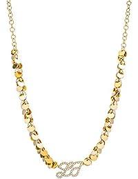 Liu Jo Luxury Women s Necklace dolceamara Crew Neck Brass LJ 718 5fed756ef69