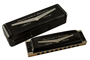 Harmonicas HOHNER DIATONIQUE 542/20 GOLDEN MELODY ARGENTE 10 TROUS DB REB Golden melody