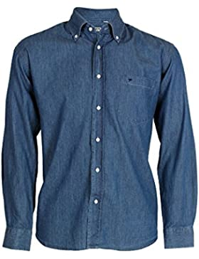 Camicia jeans middle blue