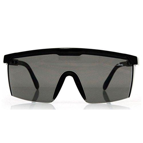 ukcoco Schutzbrillen Anti Fog Anti Scratch Schutzbrillen Anti-Fog Lens (schwarz)