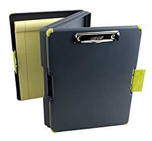 Dexas Duo Clipcase Dual Sided Storage Case and Organizer, Green by Dexas