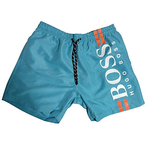 BOSS Hugo Short de Bain pour Homme (XL, Turquoise)