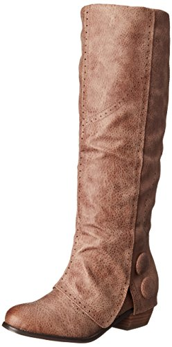 Not Rated Bailey Femmes Synthétique Botte Taupe