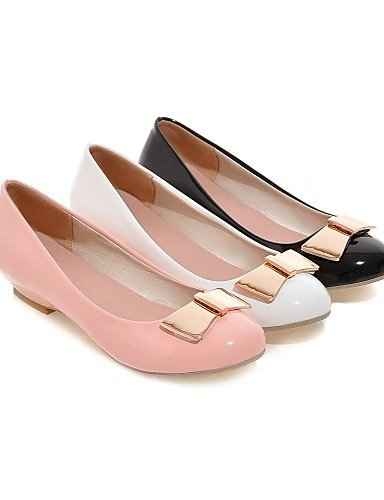 ZQ Scarpe Donna - Mocassini - Casual - Zeppe - Zeppa - Finta pelle - Nero / Rosa / Bianco , pink-us10.5 / eu42 / uk8.5 / cn43 , pink-us10.5 / eu42 / uk8.5 / cn43 pink-us7.5 / eu38 / uk5.5 / cn38