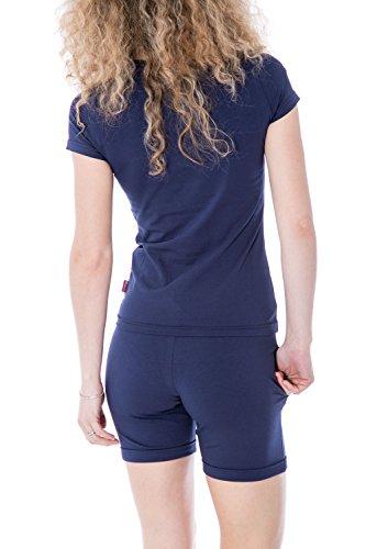 CARLSBERG - Damen regular fit shorts cbd2180 Blue